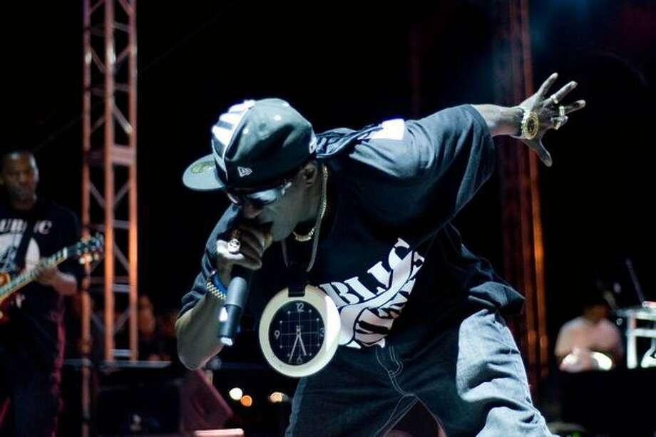 Public Enemy at Sasquatch! Music Festival on Sunday. Photo: Chona Kasinger, Seattlepi.com