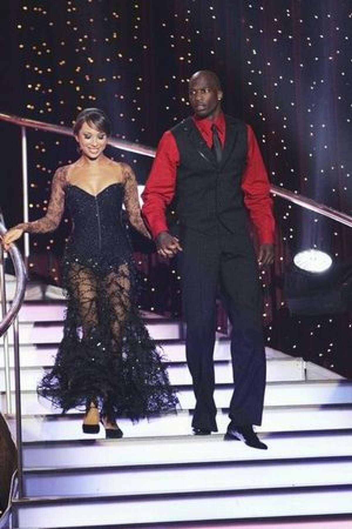 The remaining couples are: Pro football player Chad Ochocinco and his professional partner, Cheryl Burke;