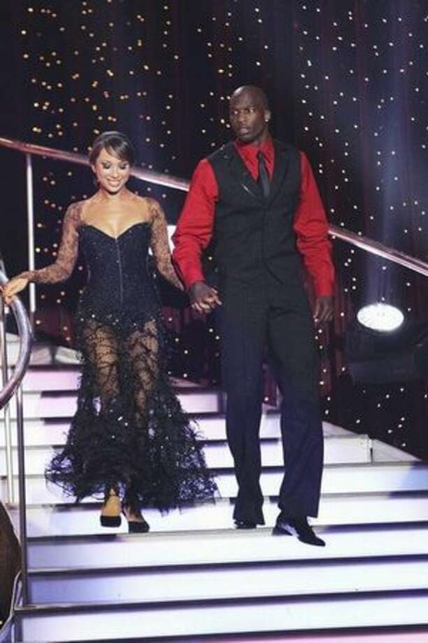 The remaining couples are: Pro football player Chad Ochocinco and his professional partner, Cheryl Burke; Photo: ABC