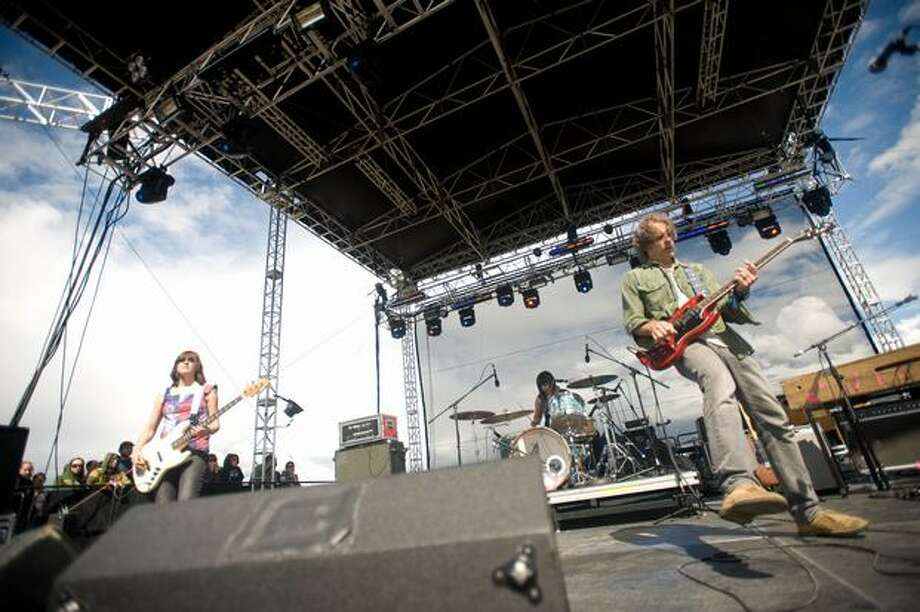 Quasi performing at Sasquatch! Music Festival on Monday. Photo: Chona Kasinger, Seattlepi.com