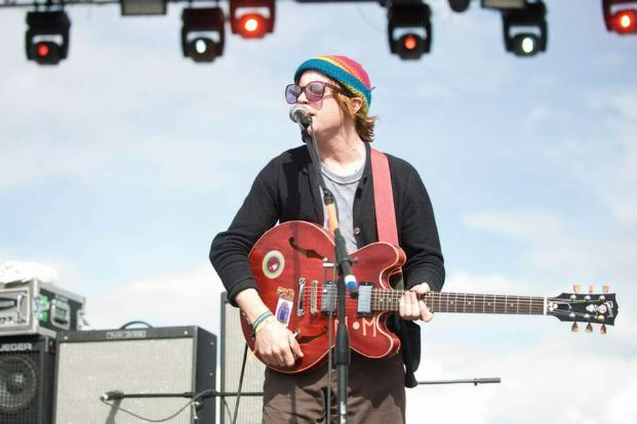 Dr. Dog performing at Sasquatch! Music Festival on Monday. Photo: Chona Kasinger, Seattlepi.com