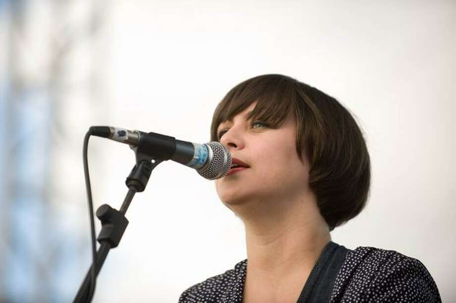 Camera Obscura performing at Sasquatch! Music Festival on Monday. Photo: Chona Kasinger, Seattlepi.com