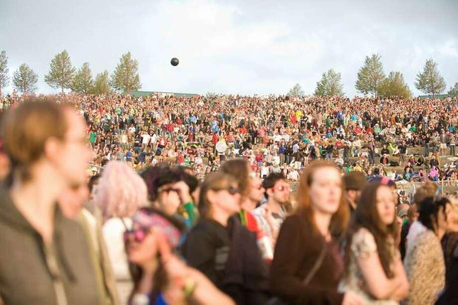Attendees at Sasquatch! Music Festival. Photo: Chona Kasinger, Seattlepi.com