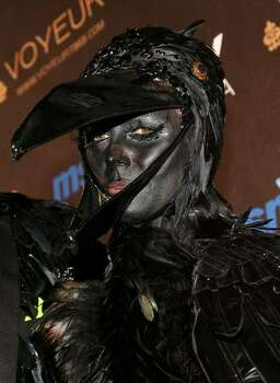 Heidi Klum arrives at the Heidi Klum's 10th Annual Halloween Party in Los Angeles, California. Photo: Getty Images