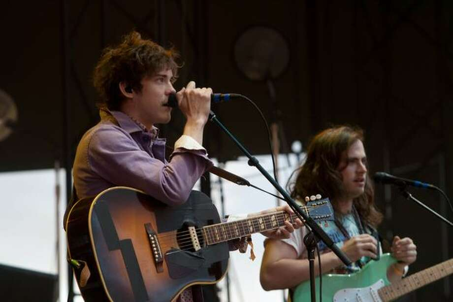 MGMT performing at the Gorge Amphitheatre for the Sasquatch! Music Festival on Monday. Photo: Humberto Martinez, Seattlepi.com
