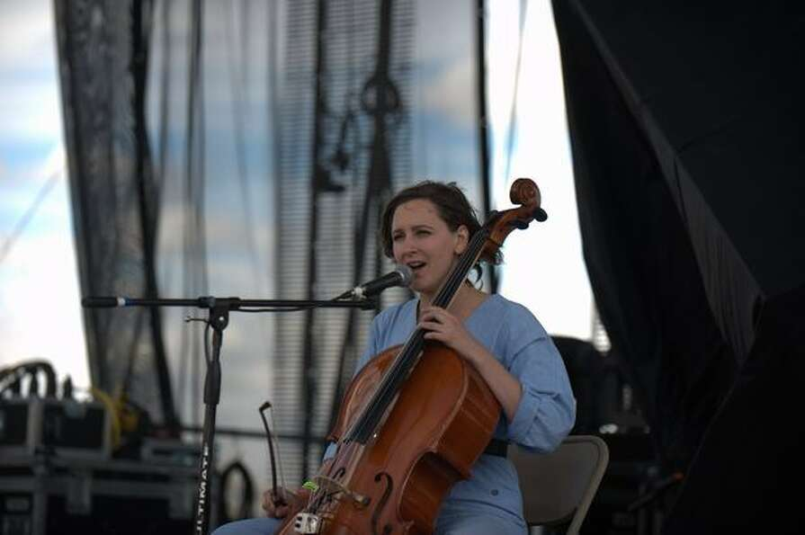 Laura Marling performs Saturday at the Sasquatch! Music Festival in George.