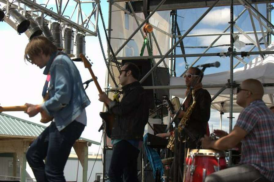 Fool's Gold performs Saturday at the Sasquatch! Music Festival in George.