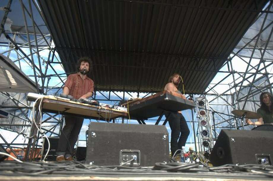 Nurses performs Saturday at the Sasquatch! Music Festival in George. Photo: Chona Kasinger, Seattlepi.com