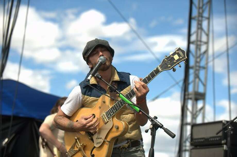 Portugal. The Man performs Saturday at the Sasquatch! Music Festival in George. Photo: Chona Kasinger, Seattlepi.com