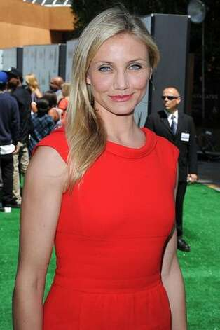 "Actress Cameron Diaz arrives at the premiere of DreamWorks Animation's ""Shrek Forever After"" at Gibson Amphitheatre. Photo: Getty Images"