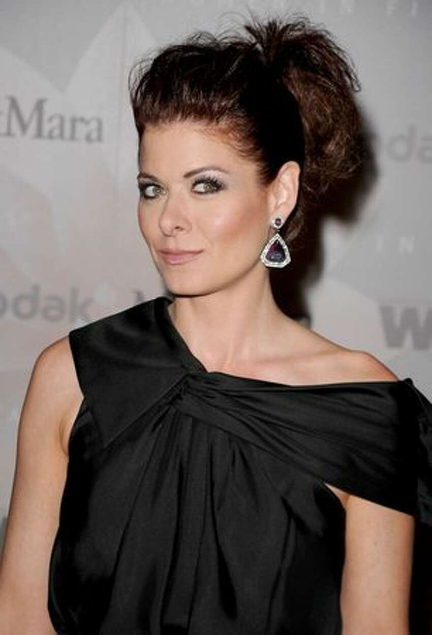 Host Debra Messing arrives at the 2010 Crystal + Lucy Awards: A New Era at Hyatt Regency Century Plaza in Century City, Calif., on June 1, 2010. The awards are sponsored by Women In Film's Los Angeles chapter as a fundraiser and to honor women in the film and television industries.