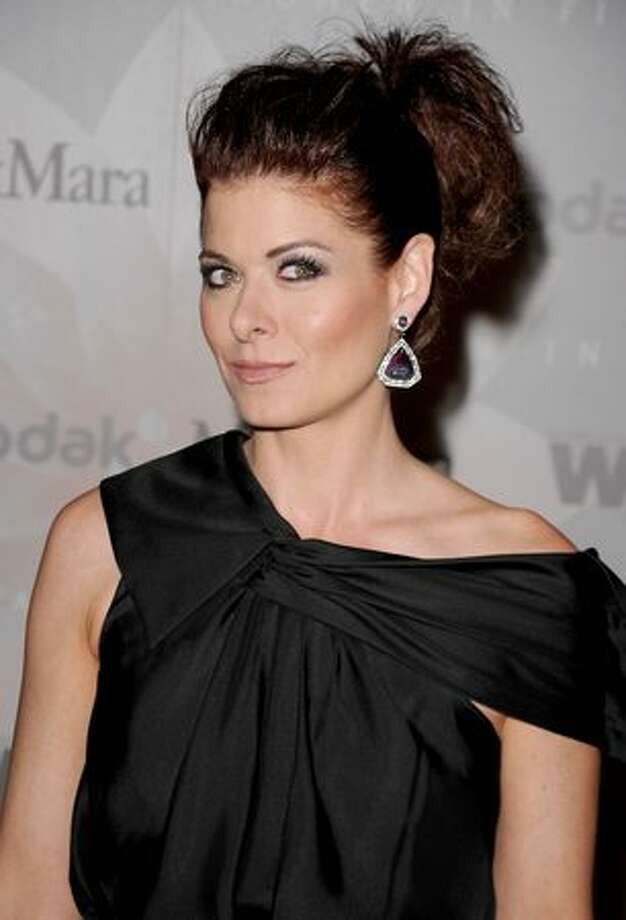 Host Debra Messing arrives at the 2010 Crystal + Lucy Awards: A New Era at Hyatt Regency Century Plaza in Century City, Calif., on June 1, 2010. The awards are sponsored by Women In Film's Los Angeles chapter as a fundraiser and to honor women in the film and television industries. Photo: Getty Images