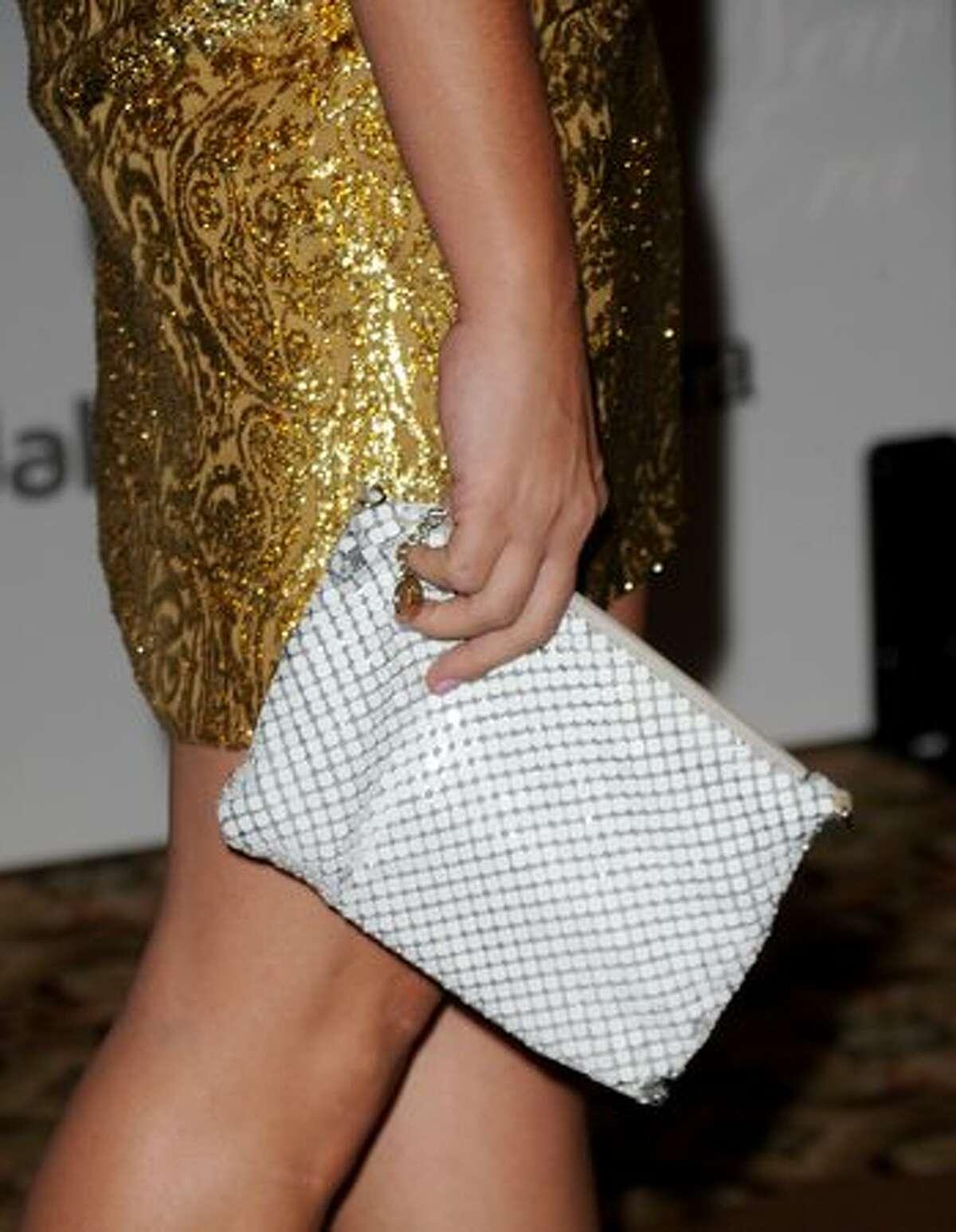 Actress Busy Philipps' handbag.