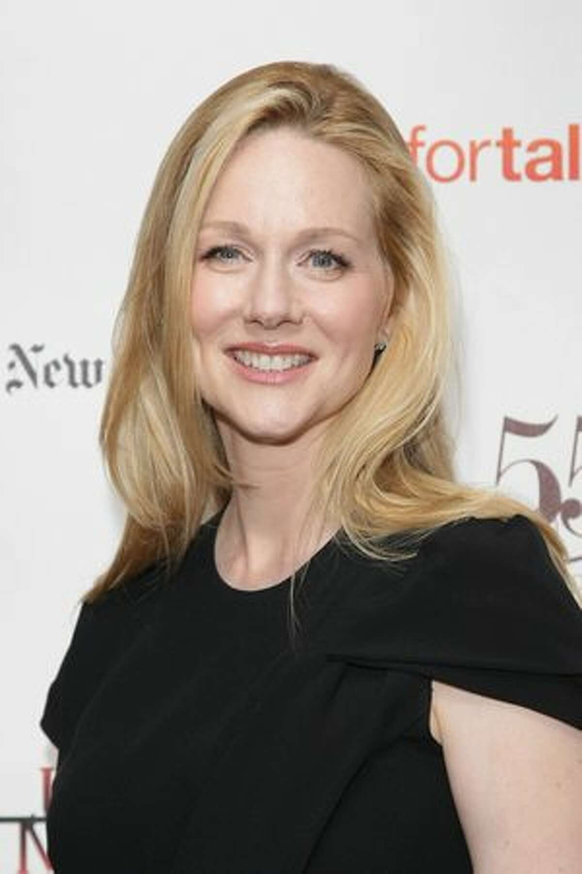 Actress Laura Linney arrives at the 55th Annual Drama Desk Awards at FH LaGuardia Concert Hall at Lincoln Center.