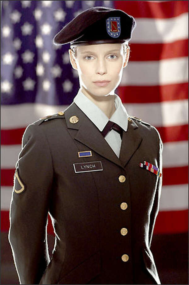 "Laura Regan plays Pfc. Jessica Lynch in ""Saving Jessica Lynch,"" Sunday at 9 p.m. on NBC (KING/5). Photo: NBC"
