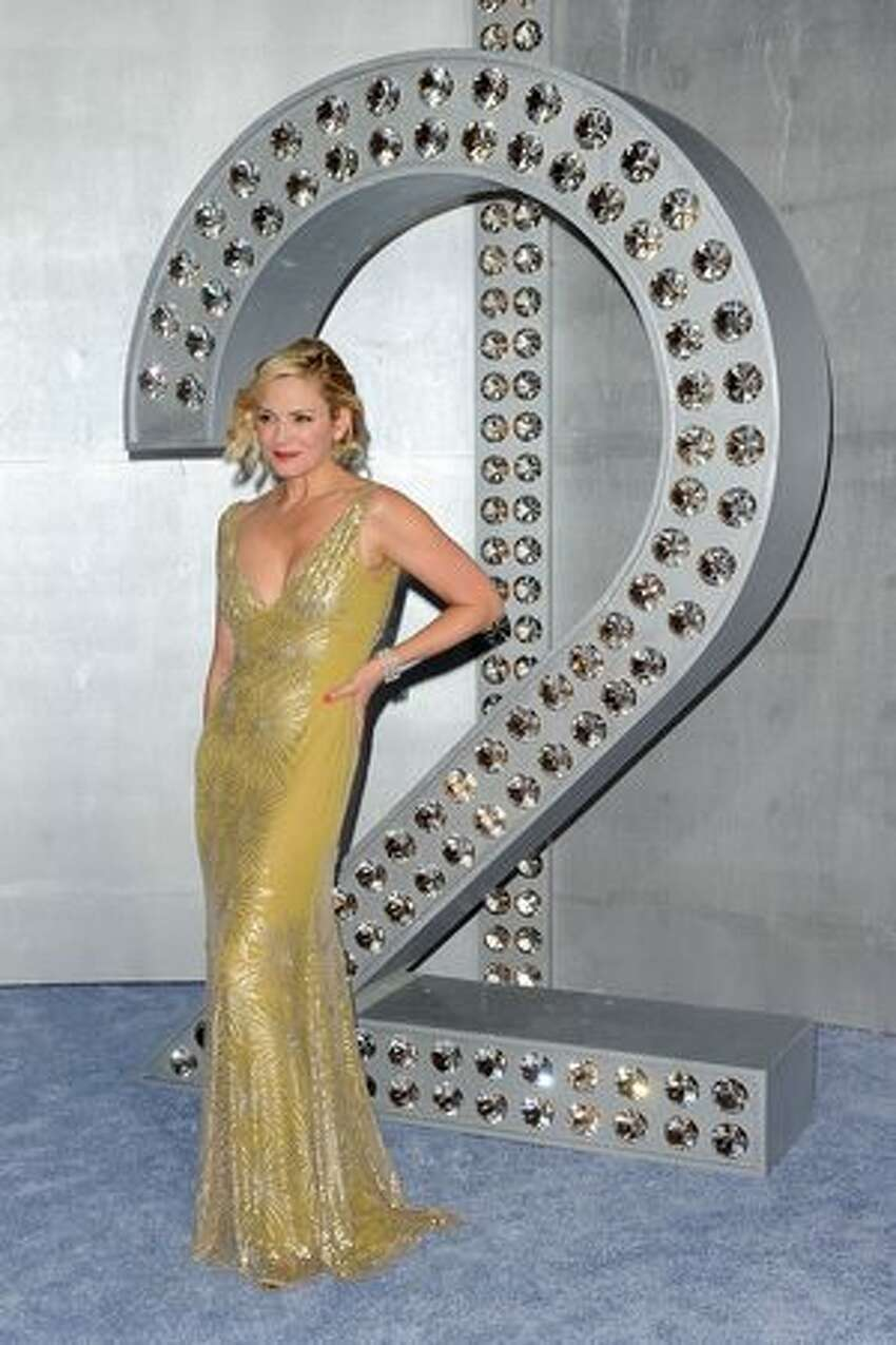 Actress Kim Cattrall attends the premiere of