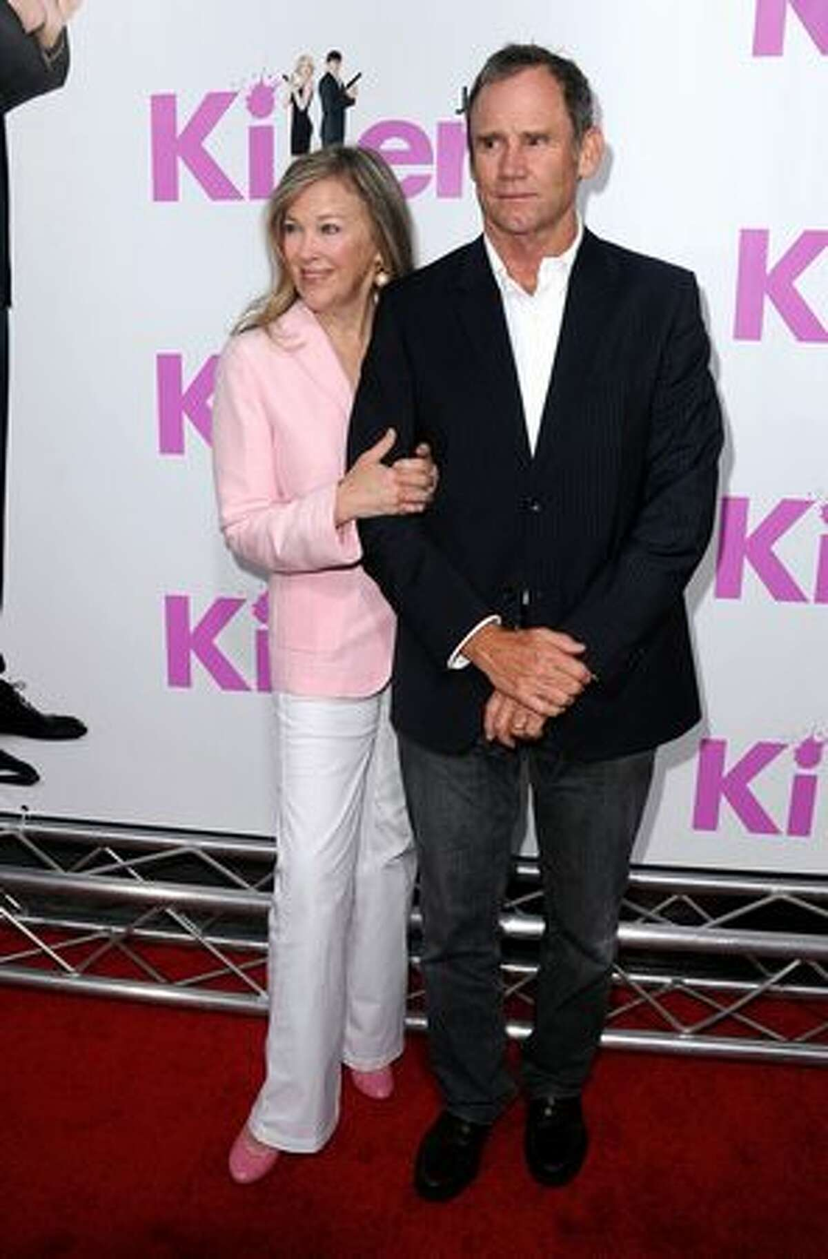 Actress Catherine O'Hara and husband Bo Welch arrive to the premiere of Lionsgate's