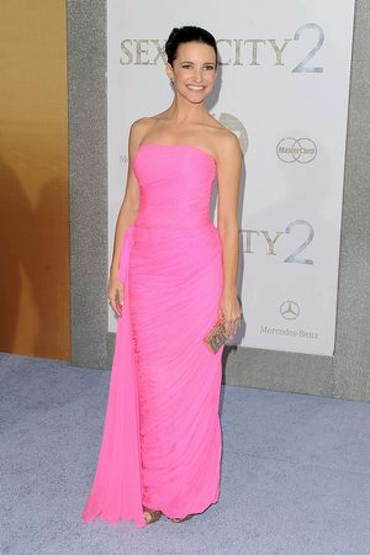 Actress Kristin Davis attends the premiere of