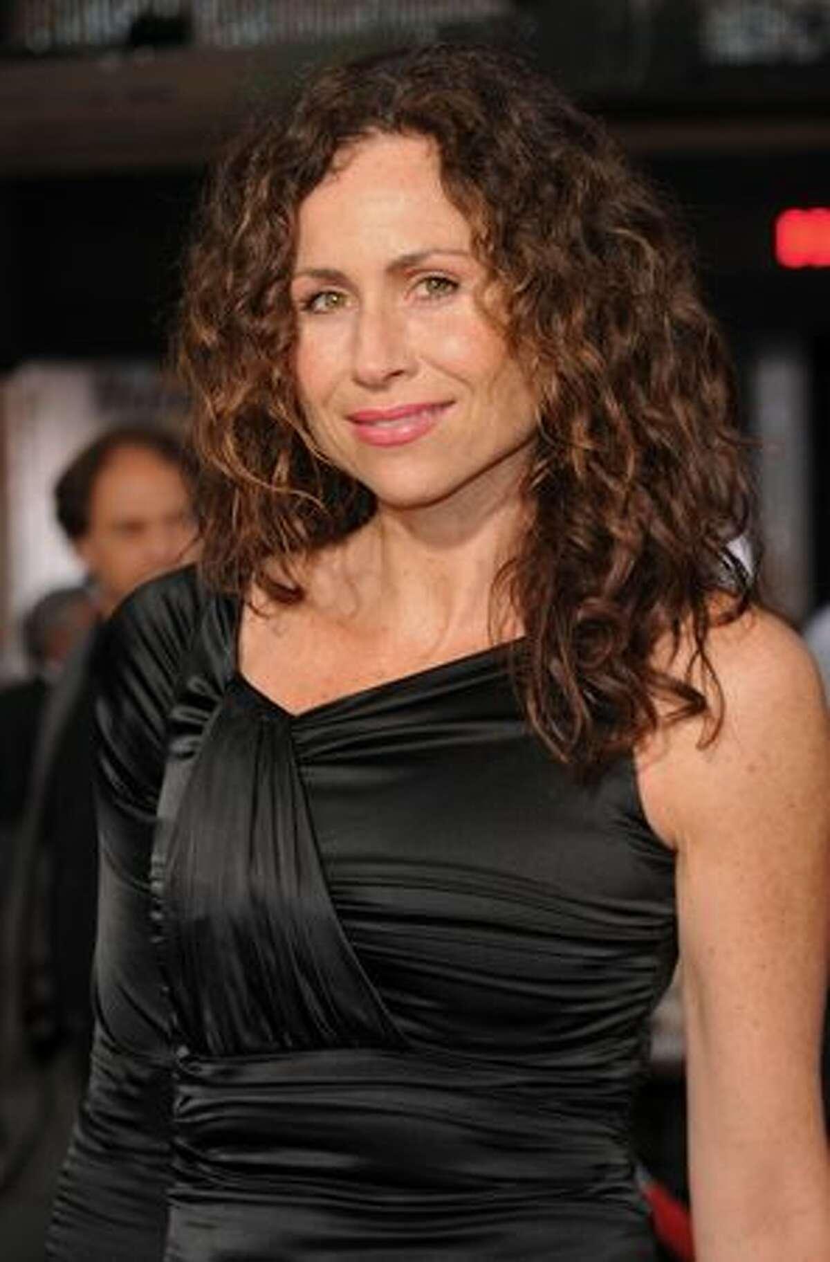 Actress Minnie Driver arrives at the premiere of 20th Century Fox's
