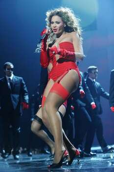 Beyonce performs during the 2009 MTV Europe Music Awards held at the O2 Arena in Berlin, Germany. Photo: Getty Images