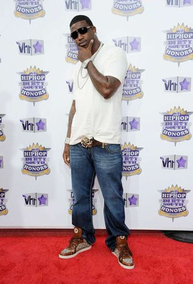 Rapper Gucci Mane attends 2010 VH1 Hip Hop Honors at Hammerstein Ballroom. Photo: Getty Images