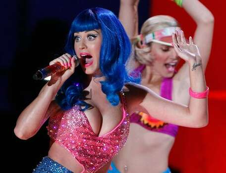 Katy Perry performs onstage. Photo: Getty Images