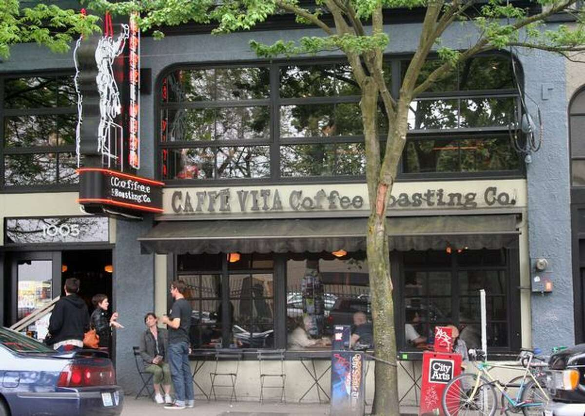 One of the major hangout spots in Capitol hill, Cafe Vita is a place where you can catch college students and locals grabbing something to drink. Located at 301 E. Pike street.