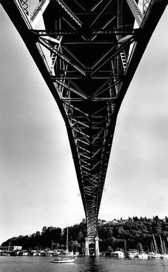 The Aurora Bridge on July 15, 1979. (Photo by Benjamin Benschneider/P-I) Photo: P-I File