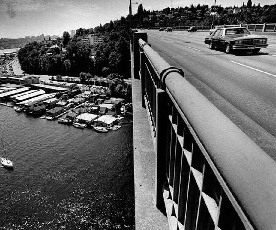The Aurora Bridge on June 17, 1979. (Photo by Benjamin Benschneider/P-I) Photo: P-I File