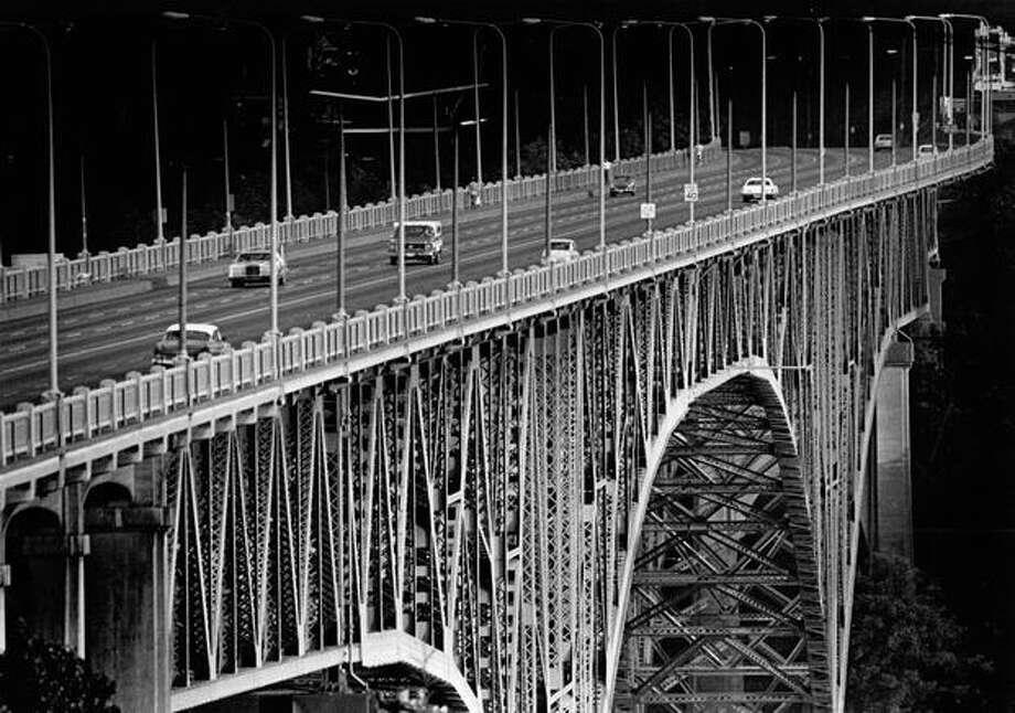 The Aurora Bridge on July 12, 1979. (Photo by Benjamin Benschneider/P-I) Photo: P-I File