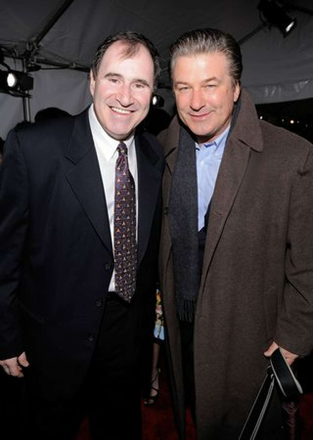 Actors Richard Kind (L) and Alec Baldwin attend IFP's 19th Annual Gotham Independent Film Awards at Cipriani, Wall Street on November 30, 2009 in New York City.