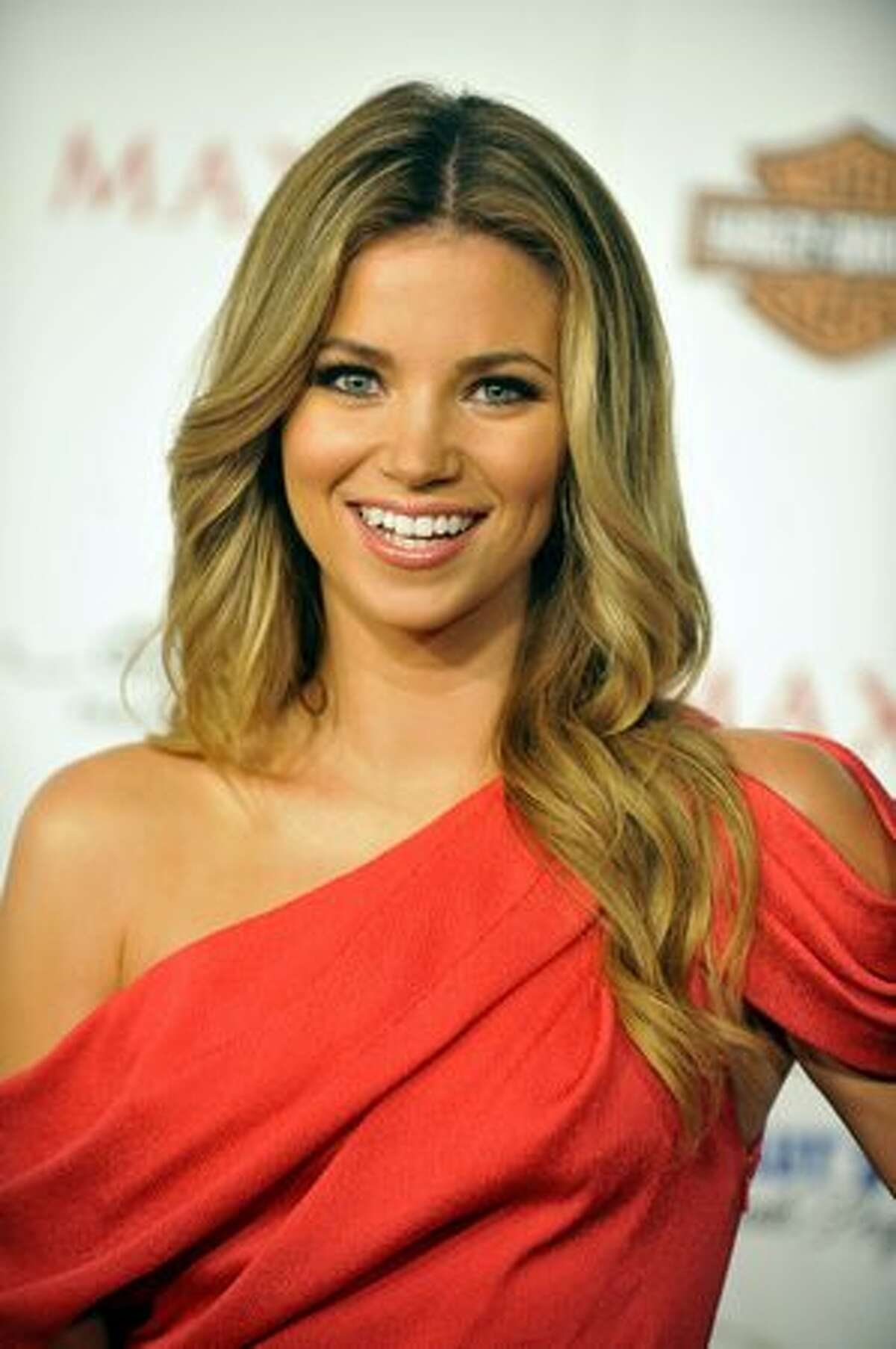 Amber Lancaster poses for a picture at the 11th annual Maxim Hot 100 Party on May 19 in Los Angeles.