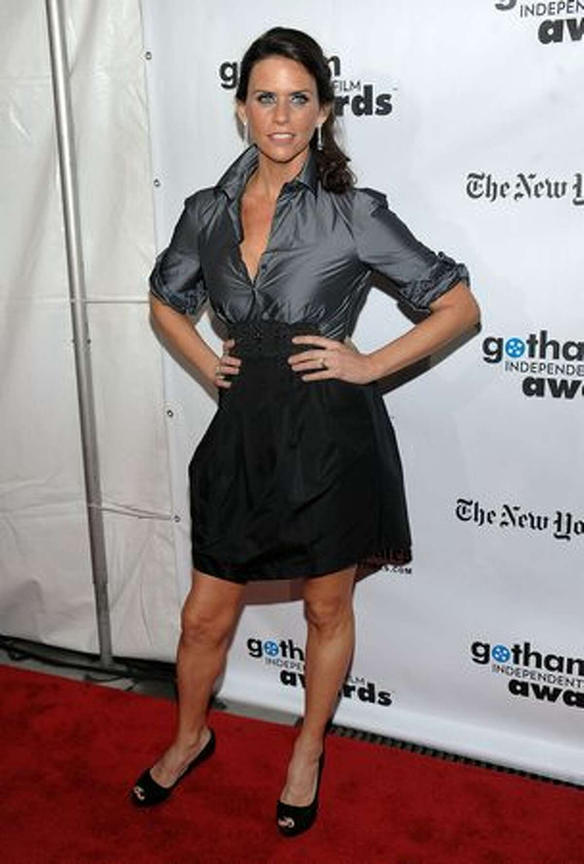 Actress Amy Landecker attends IFP's 19th Annual Gotham Independent Film Awards at Cipriani, Wall Street on November 30, 2009 in New York City.