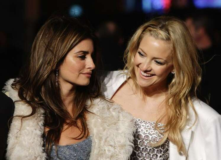 Actress Penelope Cruz and Kate Hudson attend the World Premiere of 'Nine.'