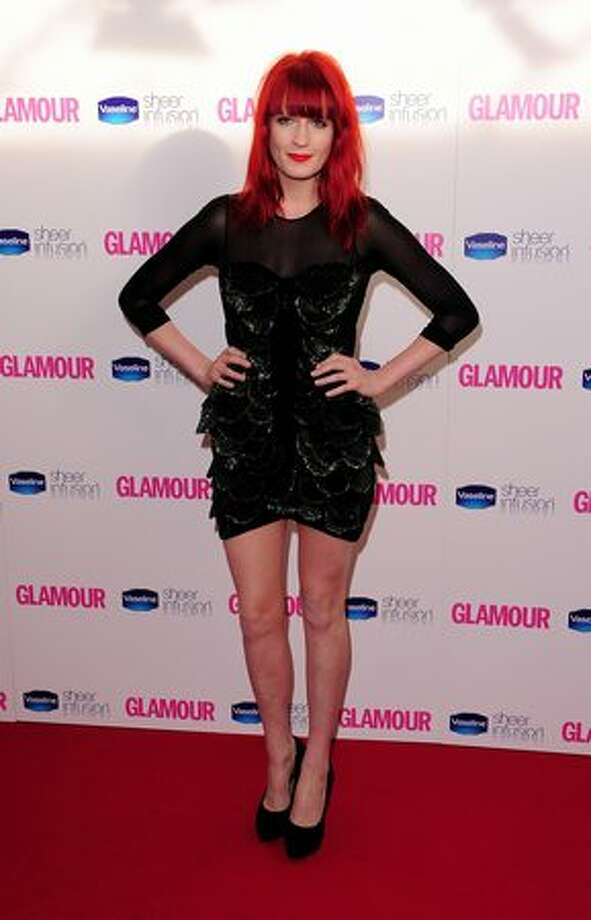 Florence Welch arrives at the 2010 Glamour Women of The Year Awards. Photo: Getty Images