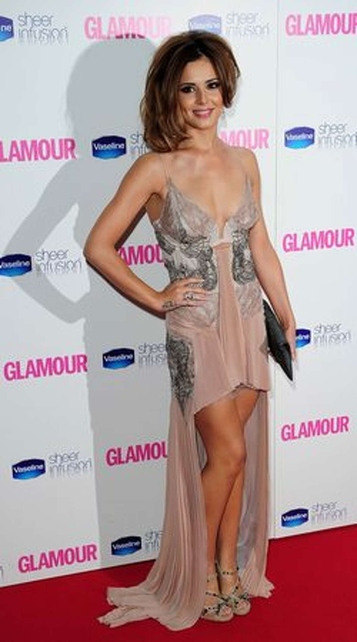 Cheryl Cole arrives at the 2010 Glamour Women of The Year Awards.