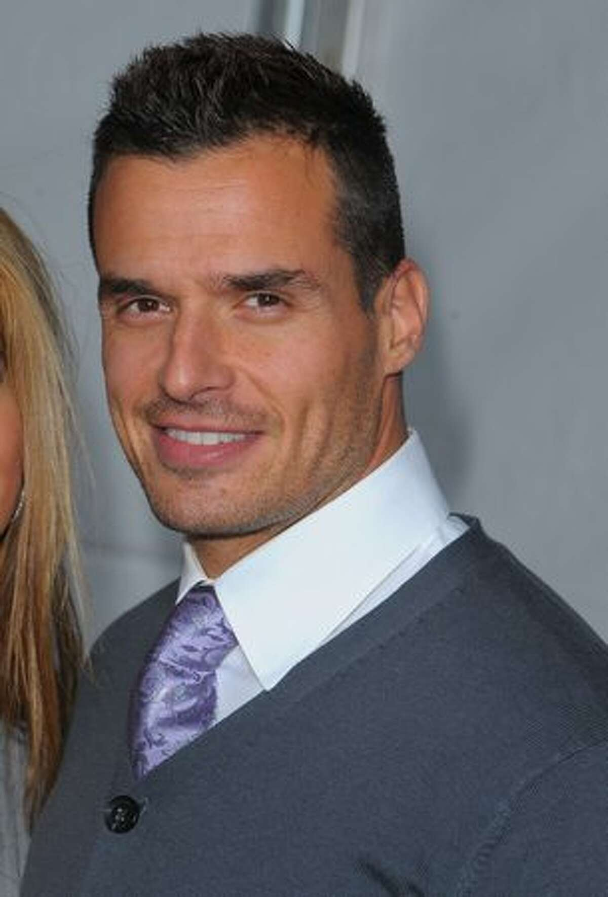 Actor Antonio Sabato Jr. arrives.
