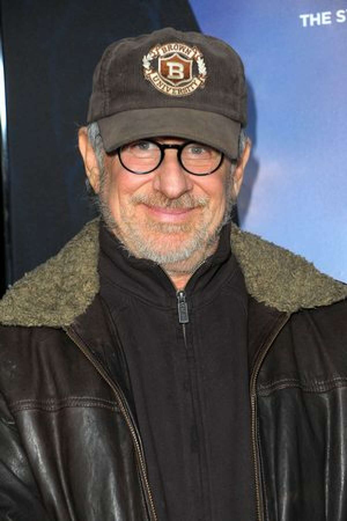 Executive producer Steven Spielberg arrives.
