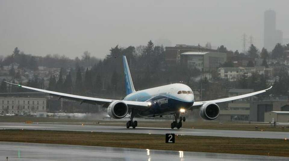 The first 787 finally took off on Dec. 15, 2009. But Boeing had to cut the flight short because of b