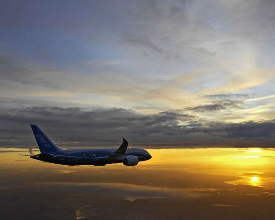 Boeing's first 787 Dreamliner continues flight testing. Photo: The Boeing Company