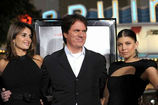 "(L-R) Actress Penelope Cruz, director Rob Marshall and actress Stacy ""Fergie"" Ferguson arrive. Photo: Getty Images"