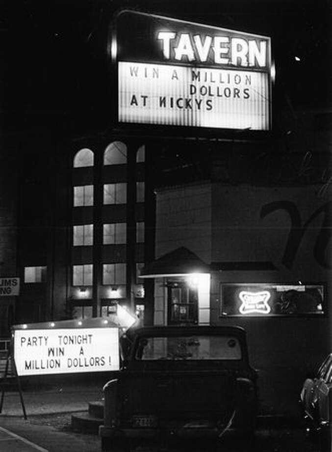 Nicky's Tavern on Holman Road, November 1982. Photo: P-I File
