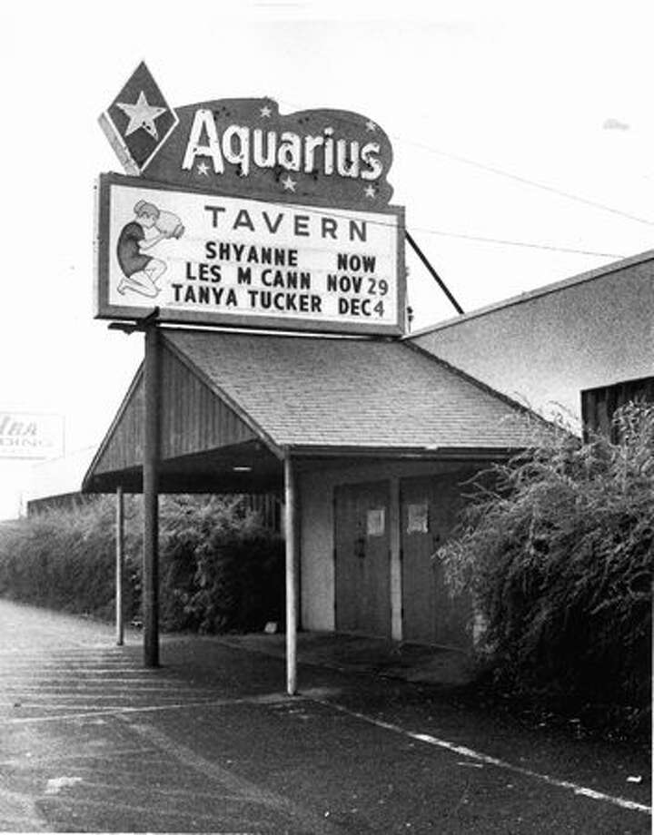 The front of Aquarius Tavern, 1978. Photo: P-I File