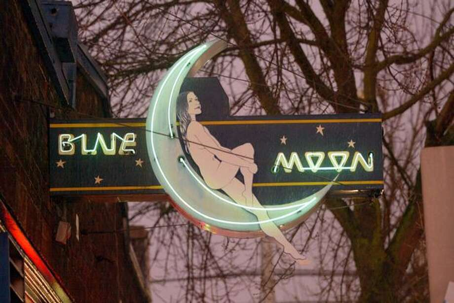 Neon at the Blue Moon Tavern on Northeast 45th Street in Seattle. The photo was taken in 2006. Photo: P-I File