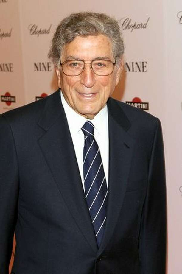 Singer Tony Bennett attends. Photo: Getty Images