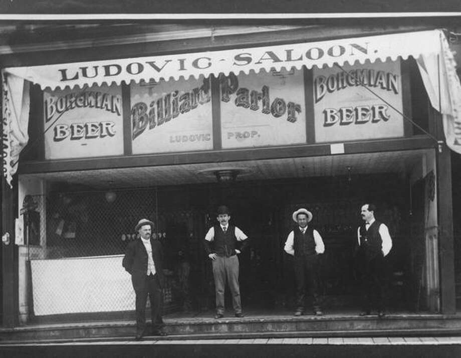 Seattle's Ludovic Saloon. Date unknown. Photo: P-I File