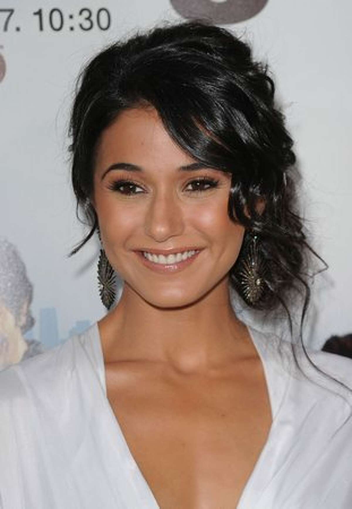 Actress Emmanuelle Chriqui arrives at HBO's