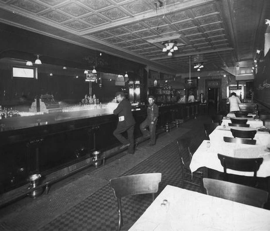 Seattle's Butler Bar sometime during prohibition, which in Washington State started in 1916. Photo: P-I File