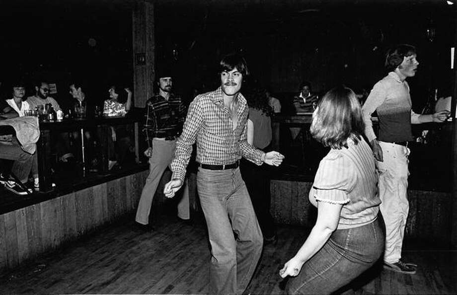Dancers at the Rainbow tavern, 1980. Photo: P-I File