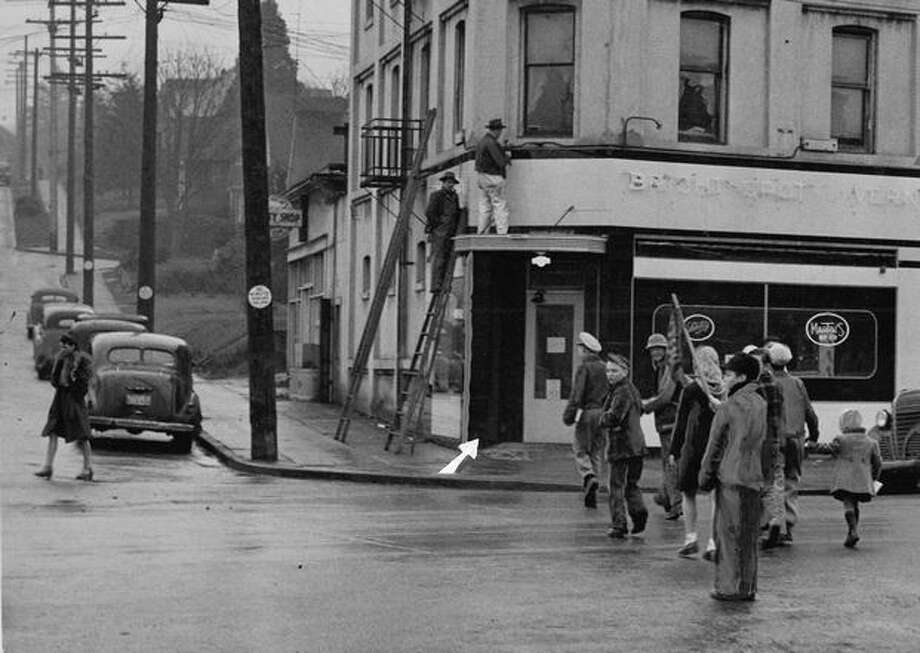 Seattle parents in 1946 complained about this South Seattle tavern less than a block from Columbia School. Photo: P-I File